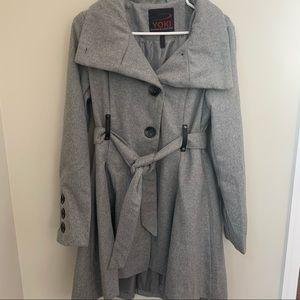 Women's wool coat.